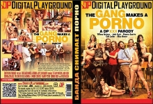 DVD - Банда Снимает Порно - XXX Пародия / The Gang Makes a Porno - A DP XXX Parody