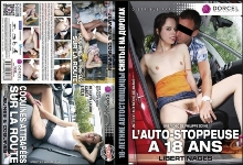 DVD - 18-летние Автостопщицы, Снятые на Дорогах / L'Auto-Stoppeuse a 18 Ans + Coquines Attrapees Sur La Route, Horny Girls Caught On The Road (2 в 1)