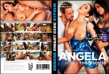 DVD - Анжела Любит Секс Втроем / Angela Loves Threesomes